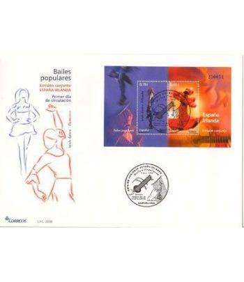 Sobres Primer Día España 4444 Bailes Populares (2008)  - 2