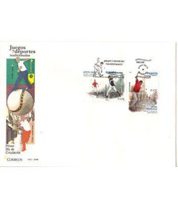Sobres Primer Día España 4408/09 Juegos y deportes trad. (2008)  - 2