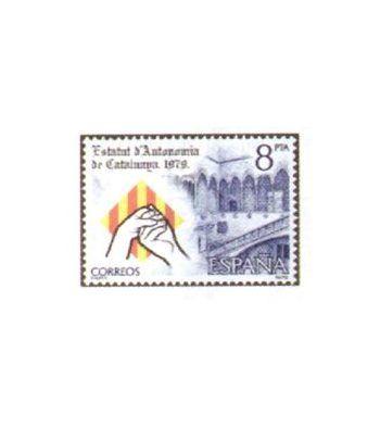 2546 Estatuto de Autonomía de Cataluña  - 2