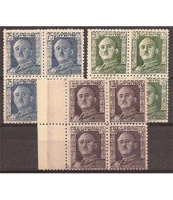 0999/01 Franco (Bloque de 4)  - 2