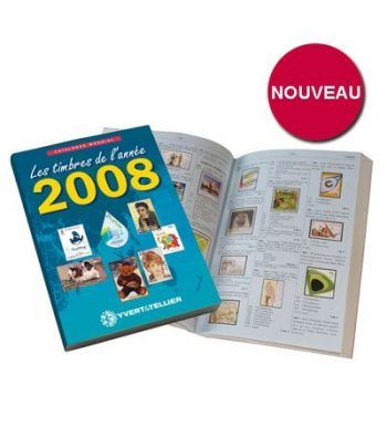 YVERT ET TELLIER Novedades mundiales 2008 Catalogos Filatelia - 2