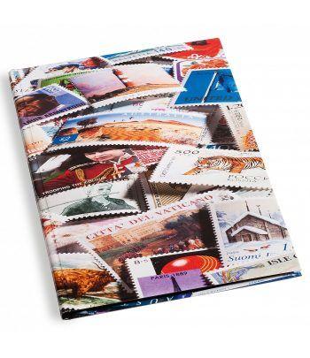 LEUCHTTURM cartulina extra blanca (23x30.5 cm) 16 hojas stamp Clasificadores sellos - 2