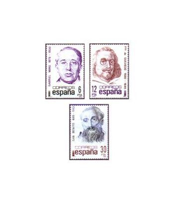 2618/20 Centenarios. Gabriel Miró, Quevedo y San Benito.  - 2