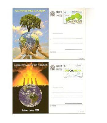 Entero Postal Año 2009 completo  - 1