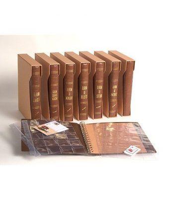 FILOBER UNIVERSAL Hoja transparente 36 dep. (Placas de cava) Album Cava - 2
