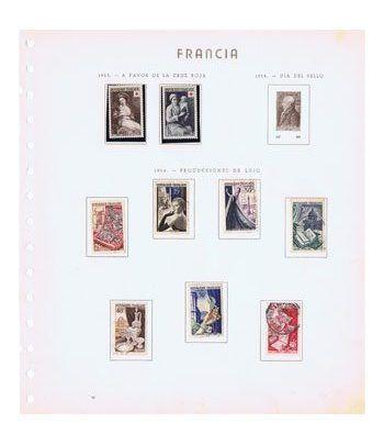 Colección Sellos de Francia 1949/1973.  - 1
