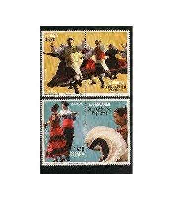 4501/02 Bailes y danzas populares. Muñeira y Fandango.  - 2