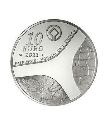Francia 10 € 2011 Patrimonio Mundial. Palacio Versailles.  - 1