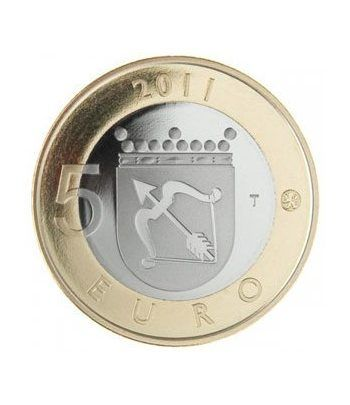 moneda Finlandia 5 Euros 2011 (4ª). Savonia.  - 1