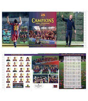 Colección Filatélica Oficial F.C. Barcelona. Pack nº02 Champions  - 2