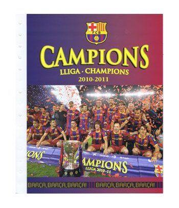 Colección Filatélica Oficial F.C. Barcelona. Pack nº02 Champions  - 4