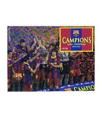 Colección Filatélica Oficial F.C. Barcelona. Pack nº02 Champions  - 6
