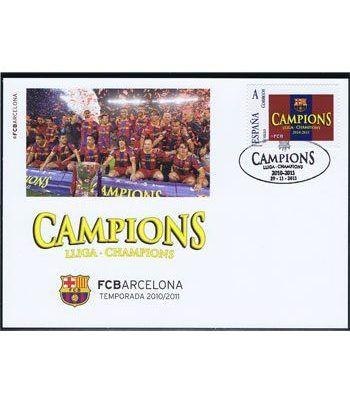 Colección Filatélica Oficial F.C. Barcelona. Pack nº02 Champions  - 8