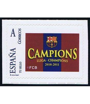 Colección Filatélica Oficial F.C. Barcelona. Pack nº02 Champions  - 10