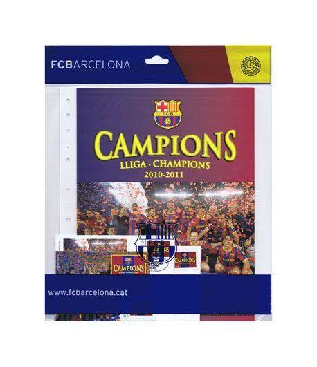 Colección Filatélica Oficial F.C. Barcelona. Pack nº02 Champions  - 1