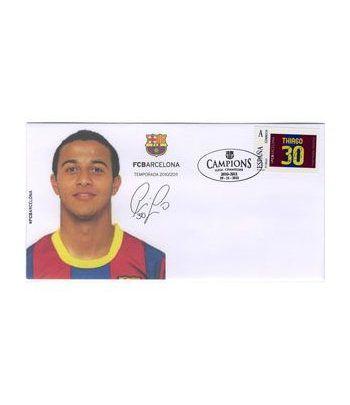 Colección Filatélica Oficial F.C. Barcelona. Pack nº03.  - 6