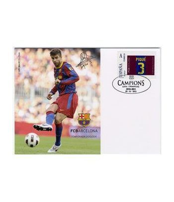 Colección Filatélica Oficial F.C. Barcelona. Pack nº03.  - 8