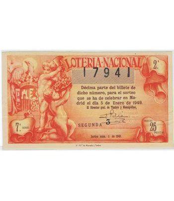 Loteria Nacional. 1949 sorteo 1.  - 2