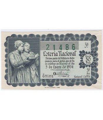Loteria Nacional. 1956 sorteo 1.  - 2