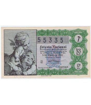 Loteria Nacional. 1957 sorteo 1.  - 2