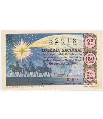 Loteria Nacional. 1964 sorteo 1.  - 2