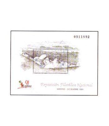 3145 Exposición Filatélica Nacional EXFILNA'91  - 2