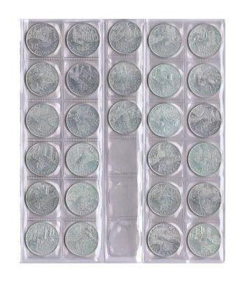Francia 10 € 2011 Les Euros des Regions. 27 monedas plata.  - 1