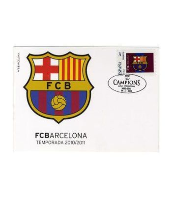 Colección Filatélica Oficial F.C. Barcelona. Pack nº04.  - 8