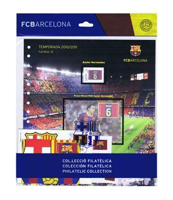 Colección Filatélica Oficial F.C. Barcelona. Pack nº04.  - 10