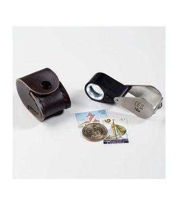 LEUCHTTURM Lupa precisión con LED y lampara UV 10 aumentos. Lupas - 1