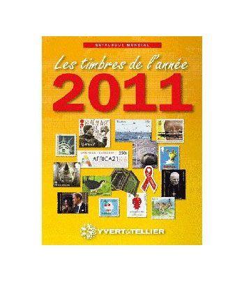 YVERT ET TELLIER Novedades mundiales 2011 Catalogos Filatelia - 2