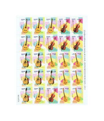 Minipliego 89c Instrumentos Musicales 2011.  - 2