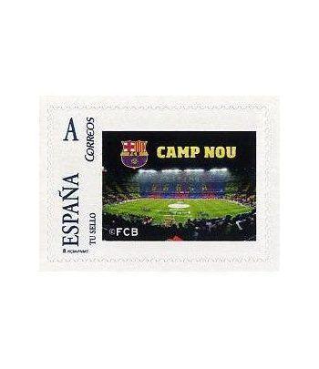 Colección Filatélica Oficial F.C. Barcelona. Pack nº05.  - 4