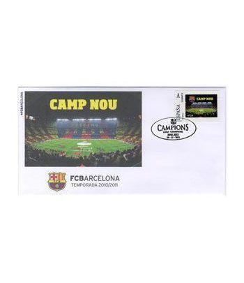 Colección Filatélica Oficial F.C. Barcelona. Pack nº05.  - 6