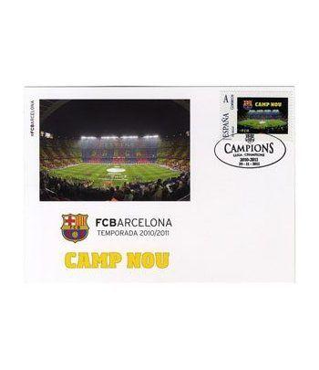 Colección Filatélica Oficial F.C. Barcelona. Pack nº05.  - 8