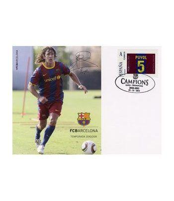 Colección Filatélica Oficial F.C. Barcelona. Pack nº07.  - 6