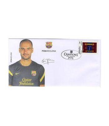 Colección Filatélica Oficial F.C. Barcelona. Pack nº10.Guardiola  - 6