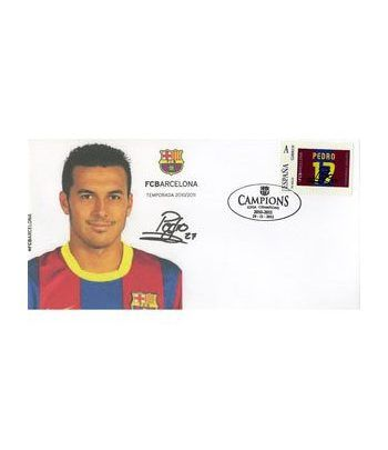 Colección Filatélica Oficial F.C. Barcelona. Pack nº11.  - 4