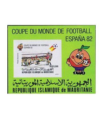 Deportes. Mauritania (nº cat. yvert HB29 S/D)  - 2