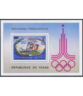 Deportes. Tchad (nº cat. yvert HB30)  - 2