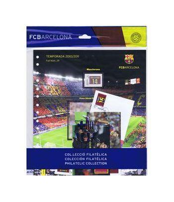 Colección Filatélica Oficial F.C. Barcelona. Pack nº12.  - 1
