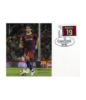 Colección Filatélica Oficial F.C. Barcelona. Pack nº13.  - 8