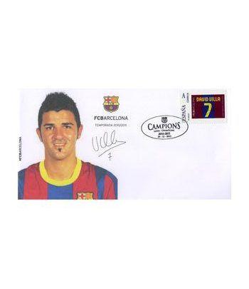 Colección Filatélica Oficial F.C. Barcelona. Pack nº13.  - 10
