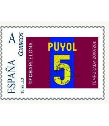 Colección Filatélica Oficial F.C. Barcelona. Pack nº14.  - 2