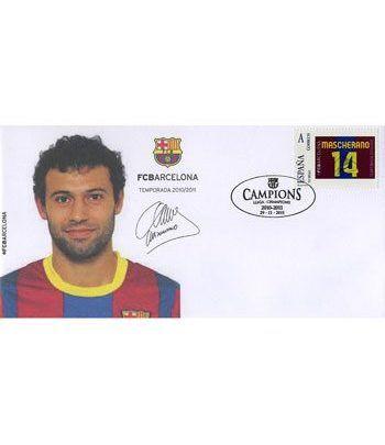 Colección Filatélica Oficial F.C. Barcelona. Pack nº14.  - 6