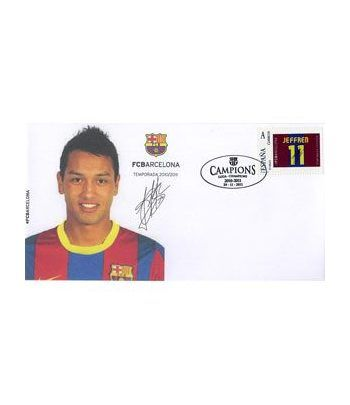 Colección Filatélica Oficial F.C. Barcelona. Pack nº16.  - 2
