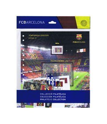 Colección Filatélica Oficial F.C. Barcelona. Pack nº16.  - 10