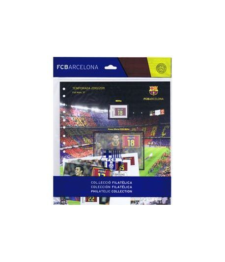 Colección Filatélica Oficial F.C. Barcelona. Pack nº16.  - 1