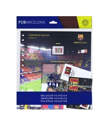 Colección Filatélica Oficial F.C. Barcelona. Pack nº18.  - 1
