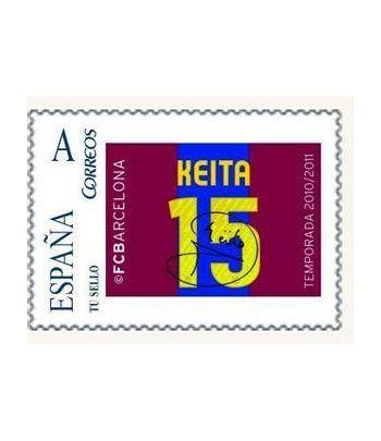 Colección Filatélica Oficial F.C. Barcelona. Pack nº19.  - 2